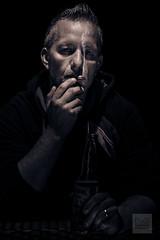 DSC_0251 (DaGl Dedicated Photography) Tags: portrait blackandwhite bw beer cigarette corona strong bier characterportrait