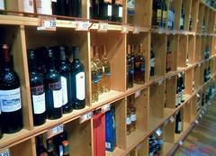 Wine (triziofrancesco) Tags: wine bottles alcool bari vino bottiglie ipercoop centrocommerciale