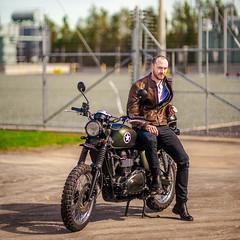 Triumph Motorcycle (dodgyharo) Tags: bike canon dream 85mm triumph motorcycle 5d speedmaster f12 zhongyi mitakon