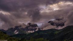 Evening in the Picos (tompickwellphotography) Tags: mountain mountains clouds spain picos riofrio picosdeeuropa cucayo dobres