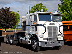 White-Freightliner WFT-8664T (Truck Exposure) Tags: coe cabover