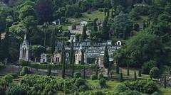 Morcote (bulbocode909) Tags: tessin suisse vert arbres printemps morcote glises forts