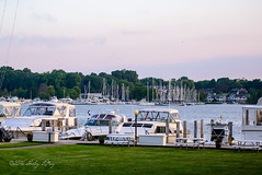 Evening Clear (shirley319) Tags: water june marina boat unitedstates michigan saugatuck kalamazooriver 2016 d600 saugatuckmichigan puremichigan