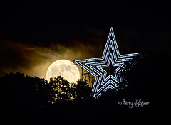 Summer Moon By Roanoke Star (Terry Aldhizer) Tags: blue summer moon mountain mill logo photography star strawberry icon ridge solstice roanoke terry trademark aldhizer wwwterryaldhizercom