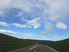Clouds and blue sky over the highway, Peter highland, Serbia (Paul McClure DC) Tags: scenery serbia balkans srbija zlatibor peter sjenica may2016