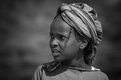 Ethiopian Girl (ddimblickwinkel) Tags: africa portrait people bw white black art girl blackwhite nikon surreal portrt afrika sw tamron mdchen personen d300 einfarbig schwarzweis d300s