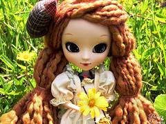 Autumn In The Summertime (Pullipprincess) Tags: flowers cute fashion doll dolls outdoor kawaii groove pullip pullips junplanning jpgroove amarri grooveinc pullipamarri