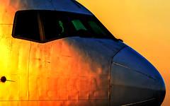 Boeing 777 - 200LR (Aviation_._Photography) Tags: boeing boeinglover boeing777 dublin dublinairport ethiopian ireland closeup sunrise