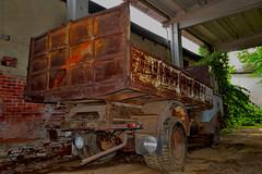 OM tigre (riccardo nassisi) Tags: abandoned truck rust ruins fiat decay rusty camion scrapyard om 690 biella scrap tigre n1 ruggine relitto urbex rottame abbandonato fornace epave