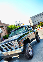 Chevy Silverado (Chad Horwedel) Tags: chevrolet truck illinois pickup chevy sterling custom silverado chevysilverado sterlingmainstreet