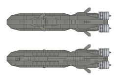 SSXDragonshark005 (Dragonov Brick Works) Tags: lego submarine snot ldraw microscale studless