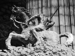 Barcelona Cathedral (Darren-Holes) Tags: barcelonacathedral cathedral barcelona spain architecture religion cathedraloftheholycross sainteulalia catedraldelasanta gothic neogothic hallchurch chevet christoflepanto stolegarius tomb cross cloister gargoyle grotesque santaeullia chapel crypt fountain geese belltower