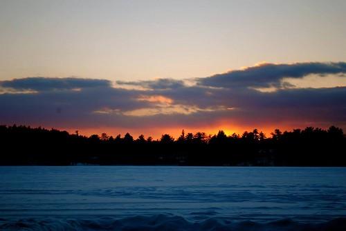 Sabbathday Lake Sunset2 - D Grant