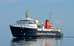 MV ISLE OF ARRAN, Approaching Brodick (Time Out Images) Tags: ayrshirecoast