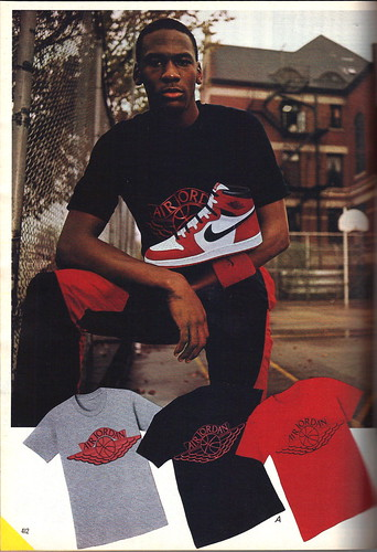 Michael and Air Jordans first release 1985-86