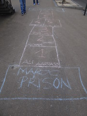 never played hopscotch quite like this (mobius15) Tags: brussels downtown belgium prison hopscotch bruxxels