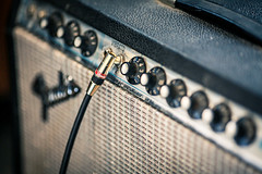 Fender Deluxe Reverb (And I dreamt of you) Tags: 2 monster canon vintage lens prime george mark deluxe tube amp cable fender mk2 5d amplifier 135mm alessandro blackface f2l