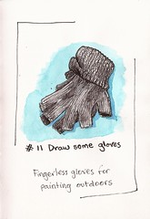 #11 draw some gloves (sarabeee) Tags: