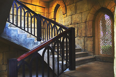 Colored Old Stairs (Ali Sabbagh) Tags: heritage colors stone stairs canon photography ancient dubai uae jumeirah dxb blinkagain canon1100d rebelt3 madinatjumeirh