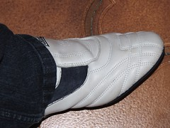 worn trainers (stevsoll) Tags: shoes sneakers trainers worn lonsdale daps