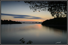 Anglezarke (jon@alm) Tags: uk longexposure sunset england lake water lowlight sigmalens anglezarkereservoir nikond800 10stopfilter