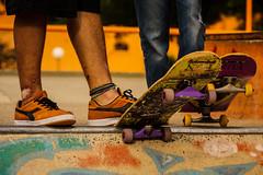 Aprendi a los golpes (dmelga) Tags: skatepark skate pies resistencia chaco curado roto zapatillas piernas rotos tobillo lastimados parque2defebrero