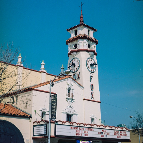The Famous Visalia Fox Theatre