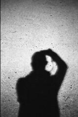 [ Self Shadow ] (Jérémie Le Guen) Tags: nightphotography shadow portrait blackandwhite selfportrait film night analog dark 50mm open darkness minolta noiretblanc iso400 wide bordeaux ombre sombre 35mmfilm portraiture fujifilm neopan nuit darkside homme argentique expiredfilm filmphotography aquitaine shootfilm fixedfocallength filmshooter leziwok jérémieleguen believeinfilm
