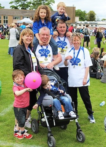 team lismore at edinburg marathon 2013