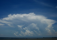 Afternoon Thunderstorm (Brain Himes) Tags: beach gulfofmexico weather clouds thunderstorm anvil