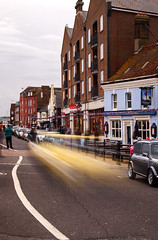 mini blur 22 (Mark Rigler UK) Tags: england motion blur car mini quay dorset hoy portsmouth poole