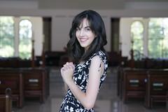 Be the Change (alyssaduet) Tags: lighting portrait church girl hair soft prayer curly