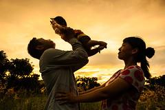 Family silhouette (williamleephoto) Tags:                                30 3034