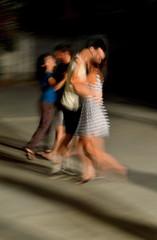 two couples dancing Tango (clara.parigi) Tags: love fun evening dance campania dancing young couples tango parete amore ballo sera giovani ballare coppie