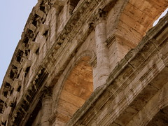 Twenty centuries of fallen light (Rick Payette) Tags: light italy rome colosseum s110