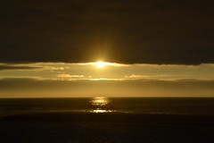 Summer clich (Machicouly) Tags: sunset sea espaa sun mer sol beach atardecer evening soleil mar spain playa galicia soire soir espagne plage tarde cliche coucherdesoleil clich galice traba machicouly