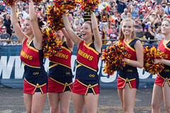 Varsity Football Home Opener (queensu) Tags: game victory orientation crowds queensuniversity froshweek oua varsityfootball celebtation vsmcmaster athleticsandrecreation queenus