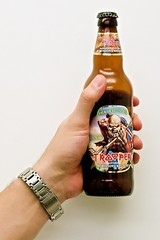 Trooper (ser-e-us) Tags: trooper beer bottle iron good grip maiden hold