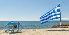 Greece (KiloMeater.) Tags: sea greek spirit flag greece