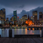 Sydney Cove by night thumbnail