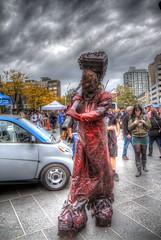 Wait for me. (CloudPhotoz) Tags: city place montral zombie walk montreal event horror spectacles hdr marche ville horreur 2013 vennement