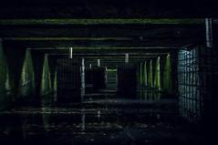 Le couloir IV (dono heneman) Tags: city urban france pentax ville couloir urbain saintnazaire pentaxkx paysdelaloire villeport loireatlantique basesousmarine pentaxart vision:text=0706 vision:outdoor=0963