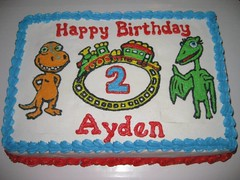Dinosaur Train Cake by Nicole, Acworth, GA, www.birthdaycakes4free.com
