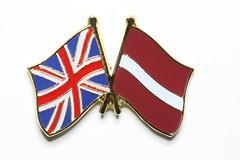 Happy Birthday Latvia (neals pics) Tags: freedom pin friendship flag country nation latvia badge independence day322 nationhood day322365 3652013 365the2013edition 18nov13
