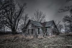 Forgotten Illinois (Jon Dickson Photography) Tags: spooky abandonedfarmhouse powerofart mygearandme mygearandmepremium mygearandmebronze mygearandmesilver mygearandmegold mygearandmeplatinum mygearandmediamond blinkagain decrepitfarmhouse