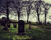 Powys (thomascambrensis) Tags: trees church clouds landscape death countryside stonework graves ended sunlit tombs powys fulfilled hedgerows