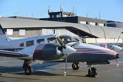 Piper Seneca III (flightlog) Tags: airport aviation brno piper pa34 turany senecaiii lktb