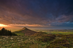 Roseberry Topping stormy sunset. (paul downing) Tags: winter sunset nikon filters hitech greatayton northyorkshire roseberrytopping 0609 gnd gribdalegate pd1001 d7000 pauldowning pauldowningphotography vision:mountain=0577 vision:sunset=0859 vision:outdoor=099 vision:clouds=099 vision:sky=099