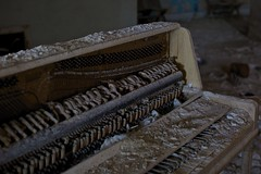 in deep (gman.light) Tags: ohio abandoned temple decay urbandecay cleveland piano urbanexploration trespass masonictemple urbex oldpiano canoneos5dmarkiii