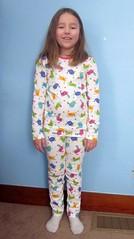 Top: Jalie 2805 Bottoms: Ottobre 06/2013 #38 (Kristin SunnySewing) Tags: stash pajamas 38 ottobre 2805 jalie 062013